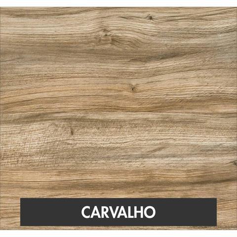 Imagem de Mesa para Escritório Office Estilo Industrial 120cm Kuadra Compace Carvalho