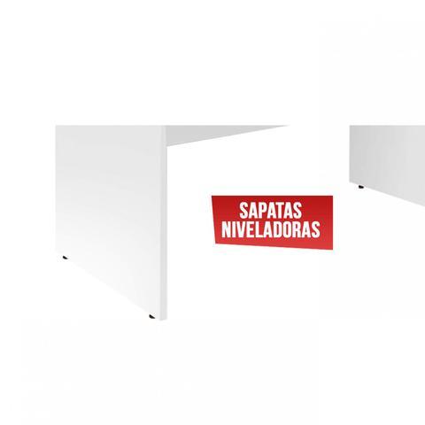Imagem de Mesa para Escritório Slim Siena Móveis Branco