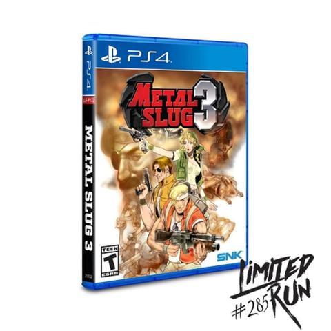 Jogo Metal Slug 3 - Playstation 4 - Snk