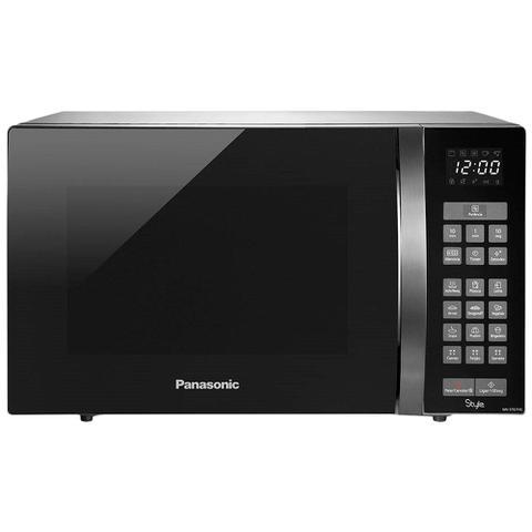 Imagem de Micro-ondas 32 Litros Panasonic com Receitas Pré-Programadas NN-ST67HSRUN Inox 110V