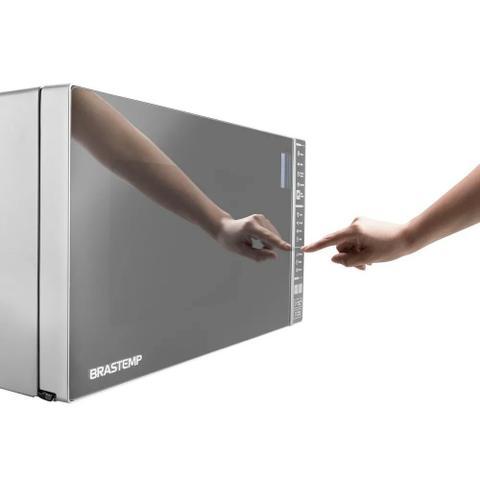 Imagem de Micro-ondas Brastemp 32L Inox 220v - BMS45CRBNA