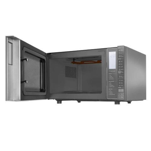 Imagem de Micro-ondas Brastemp Espelhado Grill 32 Litros Inox 110V BMG45ARANA