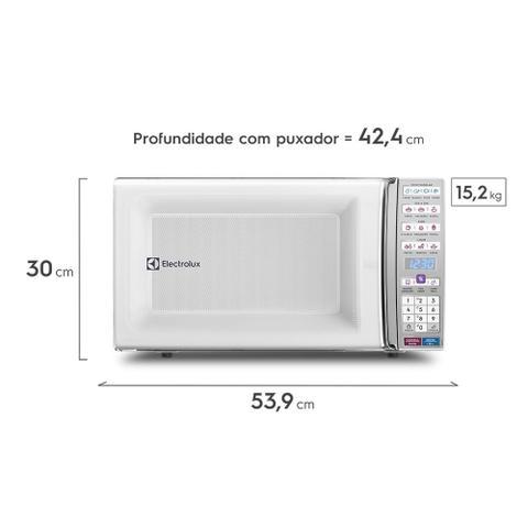 Imagem de Micro-ondas de bancada Branco com Função Tira Odor e Manter Aquecido 34L (MEO44)
