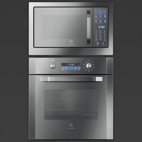 Imagem de Micro-Ondas de Embutir, com Função Grill e Painel  Blue Touch, com Frontal Espelhado (MB38T)