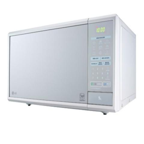 Imagem de Micro-Ondas Easy Clean 30L Prata Espelhado LG 127V (MS3059L)