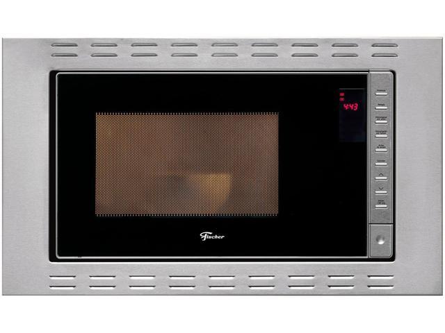 Imagem de Micro-ondas Inox Fischer 25L de Embutir