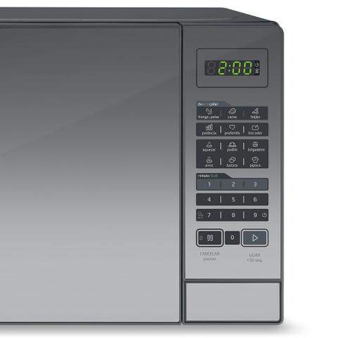 Imagem de Micro-Ondas Midea 20 Litros Prata Espelhado MRAE21 - 110V