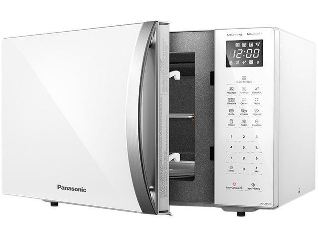 Imagem de Micro-ondas Panasonic 34L NN-ST65LWRUN Branco