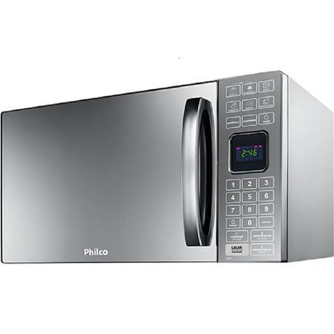 Imagem de Micro-ondas Philco 25 Litros PME25 Prata Espelhado 220V