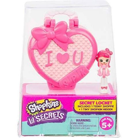 Imagem de Micro Shopkins Lil Secrets I Love You - DTC 5088