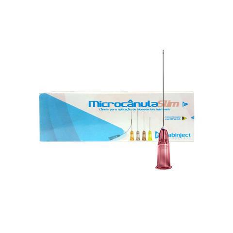 Imagem de Microcânula Flexível Slim 18g - 70mm (1,25mm x 70mm) caixa c/ 10 unidades - Fabinject