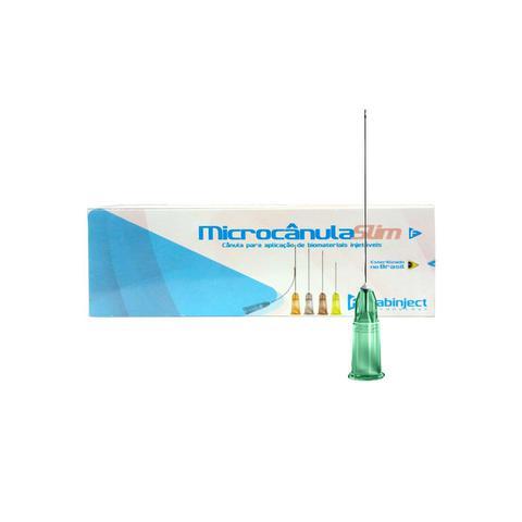 Imagem de Microcânula Flexível Slim 21g -50mm (0,80mm x 50mm) caixa c/ 10 unidades - Fabinject