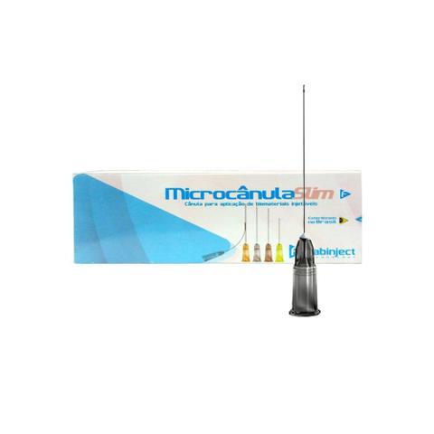 Imagem de Microcânula Flexível Slim 22g -50mm (0,70mm x 50mm) caixa c/ 10 unidades - Fabinject