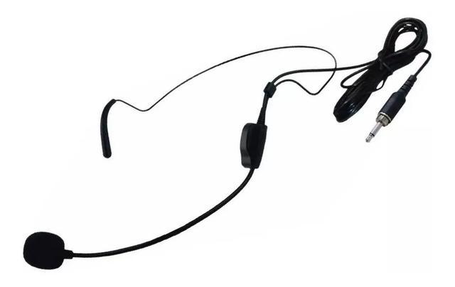 Imagem de Microfone Cabeça Headset Ksr Reposição Sem Fio Lyco Tipo Karsect Ht9 P2 Computador Smartphone