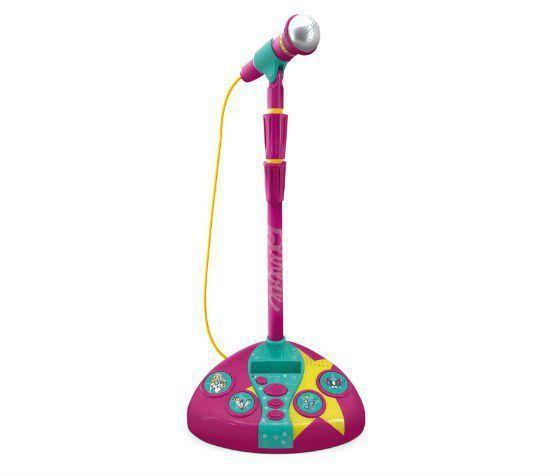 Imagem de Microfone Com Base  Barbie- Karaokê Microfone Fabuloso 80070