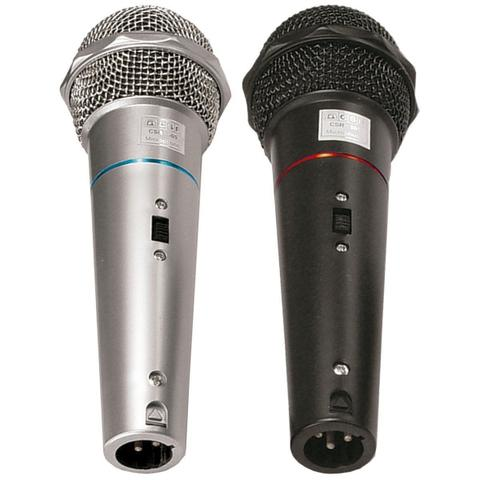 Imagem de Microfone com Fio de Mão VOXTRON By CSR VOX CSR 505 Dinâmico 600 OHMS c/ cabo 3MTS (PAR)