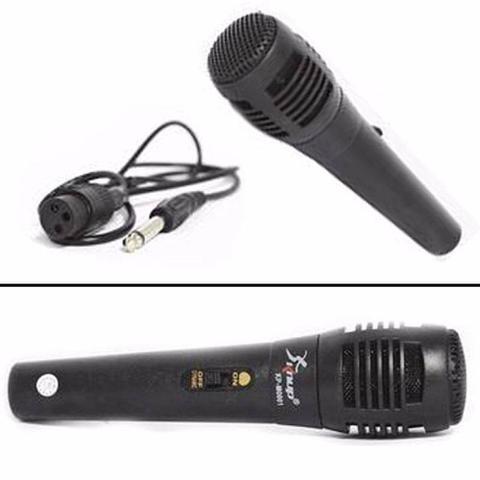 Imagem de Microfone com Fio para Karaoke KP-M0001 Preto Novo