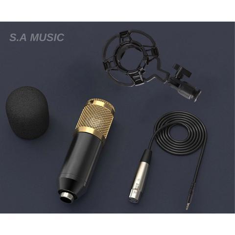 Imagem de Microfone Condensador Andowl BM 800 BM800 Estudio Gravaçao