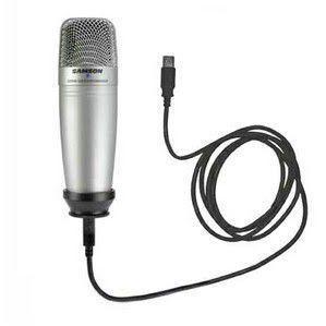 Imagem de Microfone Condensador Samson  C01u Pro Usb
