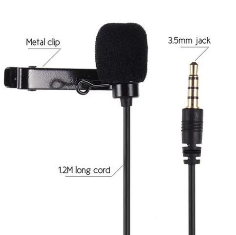 Imagem de Microfone de Lapela Profissional Stereo para Gravações