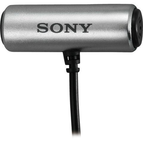 Imagem de Microfone de lapela Sony ECM-CS3 para gravadores de áudio e computadores