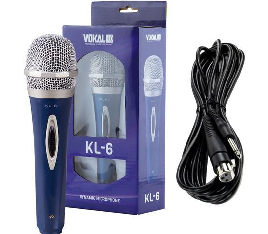 Imagem de Microfone De Mao Com Fio Vokal Kl6
