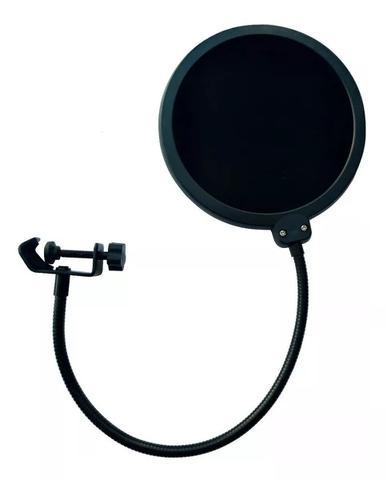 Imagem de Microfone Estúdio Bm800 + Aranha de metal + Braço + Pop Filter