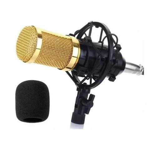 Imagem de Microfone Estúdio Condensador Bm-800 Profissional - Hamy