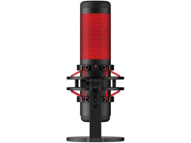 Imagem de Microfone Gamer Profissional HyperX Quadcast