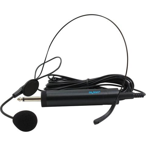 Imagem de Microfone Headset com Fio HD 750R Preto LESON