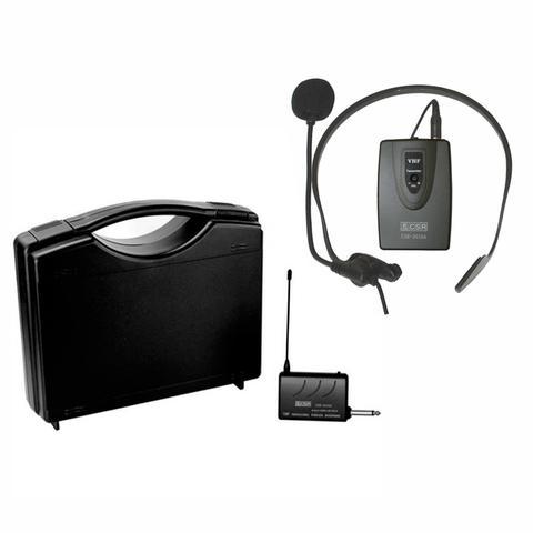 Imagem de Microfone Headset Sem Fio Vhf Profissional Csr 2010a
