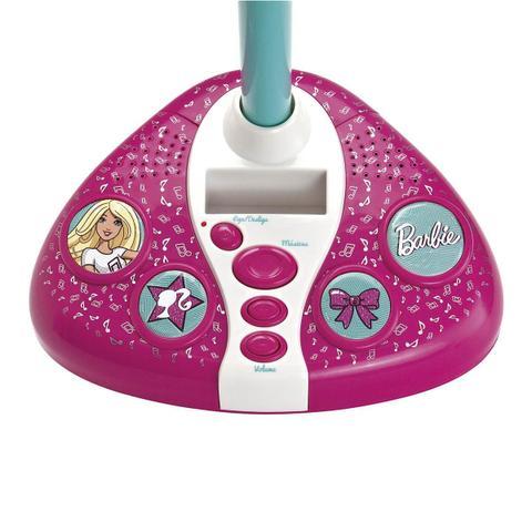 Imagem de Microfone Karaokê Infantil Barbie Fabulosa 8007-0 Fun