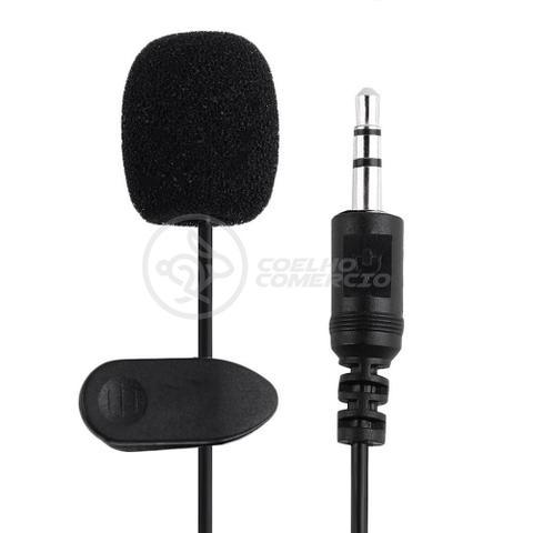 Imagem de Microfone Lapela Celular Smartphone Profissional Stereo Youtubers