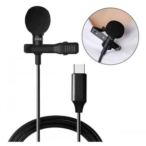 Imagem de Microfone Lapela para Celular e Tablet Tipo C xTrad - CH0454