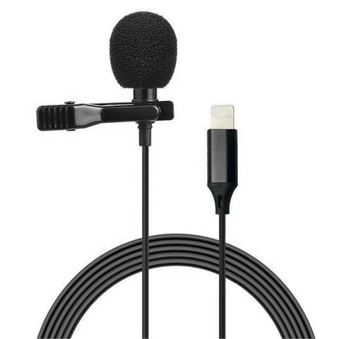 Imagem de Microfone Lapela Youtuber Lightning 7 8 X XR  2M Lavalier MKF03 - Master