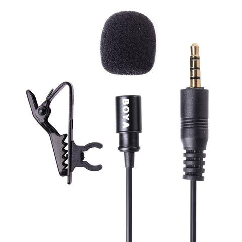 Imagem de Microfone Para Smartphones E Câmeras Dslr - Boya By-m1