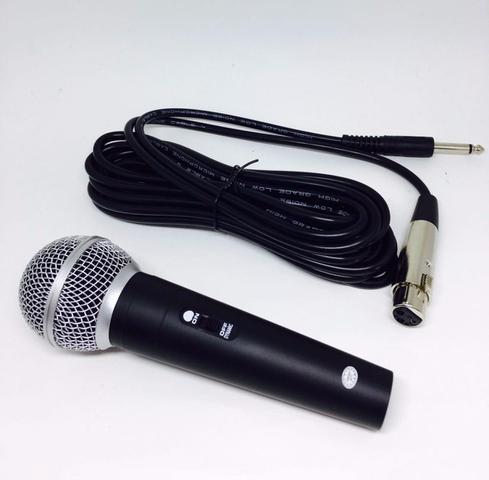 Imagem de Microfone Profissional Com Fio 3m High SM-58
