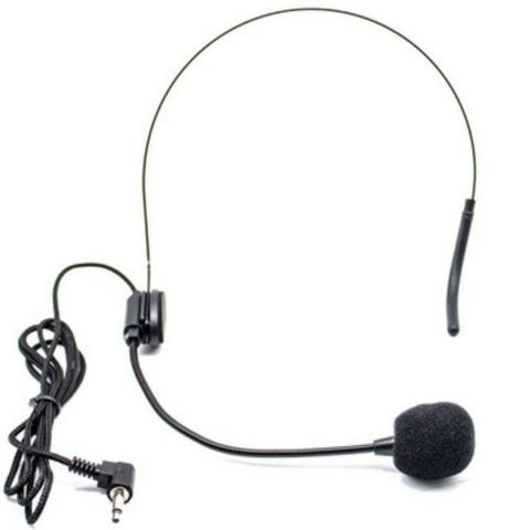 Imagem de Microfone Profissional duplo Sem Fio lapela e headset GT432 - Lorben