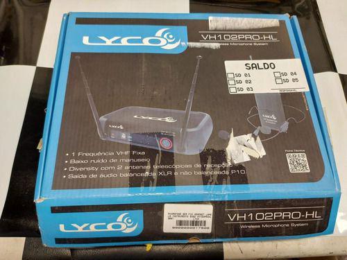 Imagem de Microfone S/ Fio Headset E Lapela Vhf Vh 102 Pro Hl Cod2891