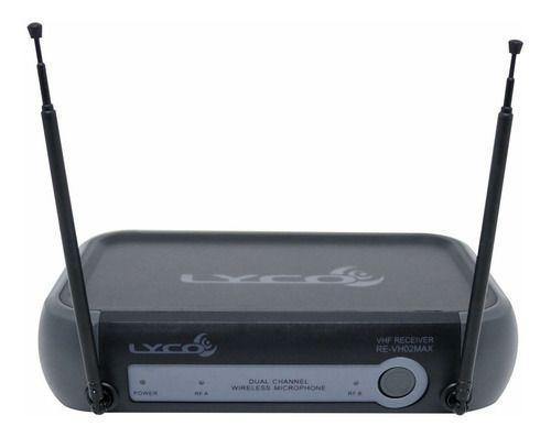 Imagem de Microfone S/fio Lyco Vh01 Hl Headset E Lapela Vhf Prof Nf-e