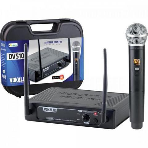 Imagem de Microfone Sem Fio de Mão DVS100SM VOKAL
