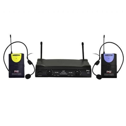Imagem de Microfone Sem Fio Duplo Headset U-585 HH JWL