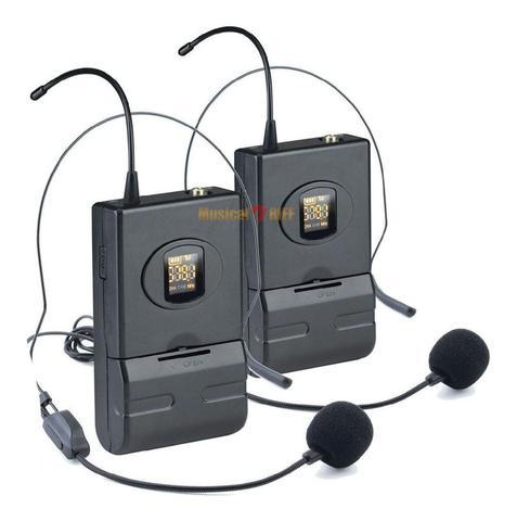 Imagem de Microfone sem fio duplo headset vokal dvs100dh