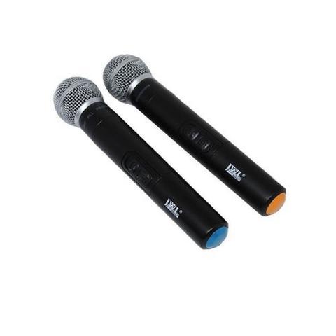 Imagem de Microfone Sem Fio Duplo Jwl U585 Uhf Profissional com maleta