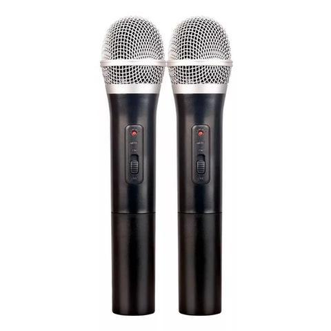Imagem de Microfone Sem Fio Duplo Vhf Profissional Vokal Vws-20 Plus