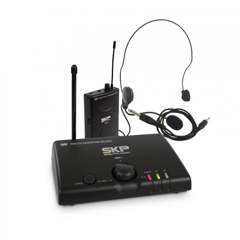 Imagem de Microfone Sem Fio Headset de Cabeça UHF Mini V SKP