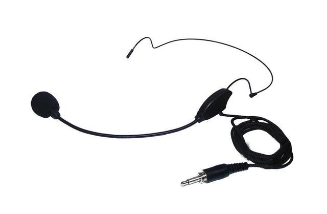 Imagem de Microfone sem fio headset e lapela lyco uh01hli receptor uhf