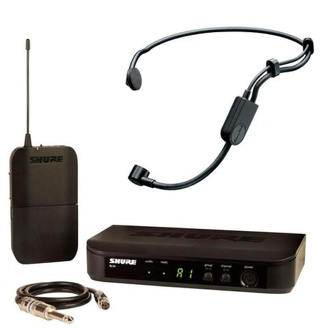 Imagem de Microfone Sem Fio Headset Shure BLX14BR/PGA31