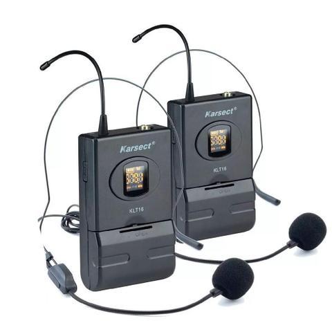 Imagem de Microfone Sem Fio Karsect KRD200 DH Headset Duplo