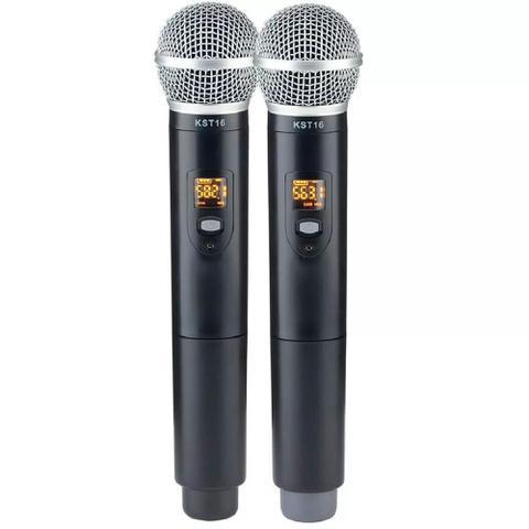 Imagem de Microfone Sem Fio Karsect KRD200 DM Duplo digital tipo shure